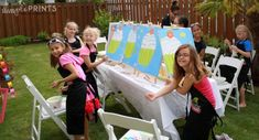 Throw A Lovely Art Party! - B. Lovely Events