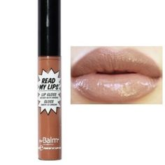 SNAP! The Balm Read My Lips! Lipgloss NIB New in box. Discounts through bundles only. . No trades The balm Makeup Lip Balm & Gloss