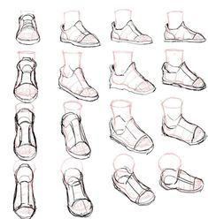 Feet Drawing, Drawing Body Poses, Drawing Reference Poses, Drawing Base, Drawing Techniques, Drawing Tips, How To Draw Shoes, Dessin My Little Pony, Body Drawing Tutorial