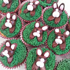 Easter Bunny Cupcakes! All our cupcakes are baked from original recipes using the best locally sources ingredients. Take a few minutes to follow us and check out more of our wonderful cakes!