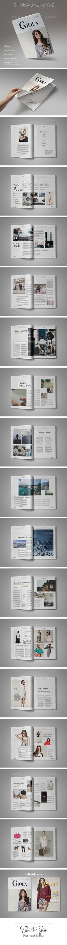 Simple Magazine Vol.2 - Magazines Print Templates Download here : https://graphicriver.net/item/simple-magazine-vol2/16565842?s_rank=186&ref=Al-fatih