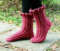 Ravelry: Sweety pattern by Sari Suvanto Knitting Projects, Knitting Patterns, Boot Cuffs, Bobbin Lace, Knitting Socks, Knit Socks, Yarn Colors, Leg Warmers, Mittens