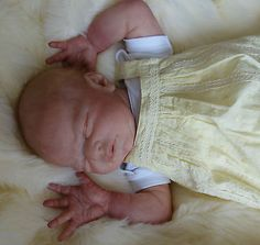 SALE Reborn baby girl Charlotte from a LE Miracle kit by Laura Lee Eagles