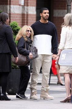 Drake Spotted Out With Mama Graham In Toronto (Photos)