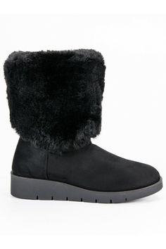 Módna zimná obuv čierne snehule Kylie K1838405NE Ugg Boots, Uggs, Shoes, Fashion, Moda, Zapatos, Shoes Outlet, Fashion Styles, Shoe