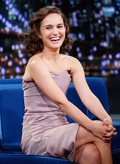 Natalie Portman stops by for an appearance on Late Night With Jimmy Fallon.