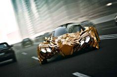 Flake futuristic car7