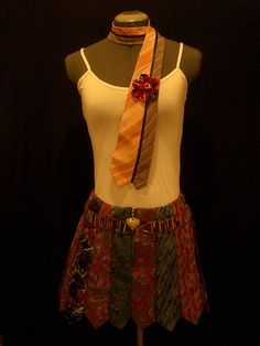 Another very creative use recycling neck ties