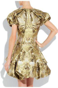 Alexander-McQueen-Angel-silk-jacquard-dress-4