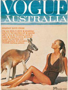 Happy Australia Day Vogue Australia December/January Cover by Helmut Newton. Vogue Magazine Covers, Fashion Magazine Cover, Vogue Covers, Vogue Uk, Vogue Fashion, Fashion Shoot, Australia Holidays, Happy Australia Day, David Sims