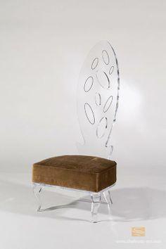 "Elysee Lounge Chair by Shahrooz. 25"" X 29"" X 58.5"" H"
