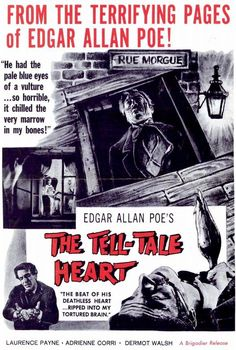The Tell Tale Heart 11x17 Movie Poster (1961)