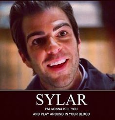 I love Sylar! He better make lots of cameos when the show returns!!