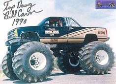 """""""Top Dawg"""" Classic monster trucks. #monstertruck"""