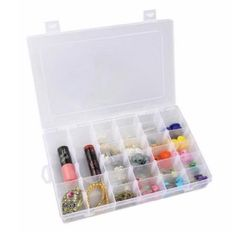 Free Shipping on orders over $35. Buy Clear Plastic Organizer, [36 Grids] Jewelry Box Storage Container w/ Adjustable Dividers at Walmart.com