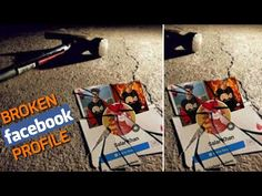 Broken Facebook Profile Picture Editing Tutorial || Pics Art - YouTube
