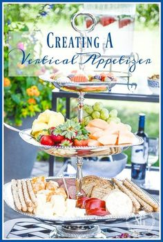 CREATING A VERTICAL APPETIZER