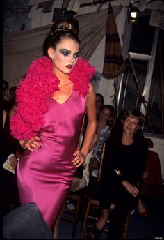 18 New York Fashion Week Photos That Will Transport You To The '90s
