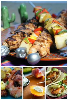 Easy Grill Recipes plus Summer Side Dishes, Easy Desserts and Icy Beverages  Yes... there is Chicken!