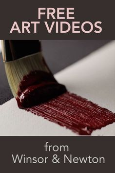 Masterclass (free!) Art Videos | Understand Paint and Improve Your Art - Cloth Paper Scissors #painting #art #WinsorNewton http://amzn.to/2k2HTMQ