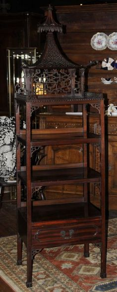 1stdibs.com   Chinese Chippendale Etagere