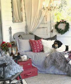 Hallstrom Home: Our Modern Farmhouse Christmas Porch