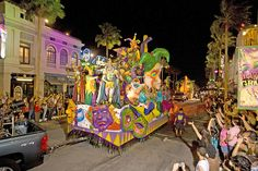 New Orleans,LA for Mardi Gras what a  party, probably the best I have been to!!!