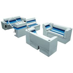 Wise Boat Seats Large Pontoon Traditional Group available at Wholesale Marine. We offer Wise Boat Seats products at lowest prices with superior service.