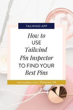 How to Use Tailwind Pin Inspector to Find Your Best Pins — Marissa Abao Pinterest Pin, Pinterest Board, Seo Tips, Pin Image, Virtual Assistant, Business Branding, Text You, Pinterest Marketing, Social Media Tips
