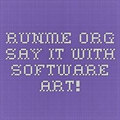 """runme.org - say it with software art! RunMe"""" is a free and portable application launcher for Windows OS which can be used as a dock utility as well. It supports almost all Windows versions including Windows XP, Vista and 7."""