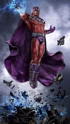 imagenes de magneto comic