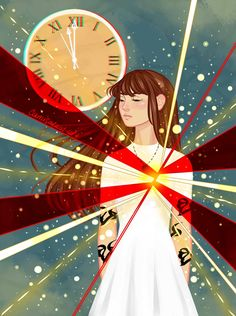 """"""" """"There's a legend about that clock. For a second, when it chimes the hour, the gates to Heaven open. From The Dark Artifices by """" Cassandra Jean, Cassandra Clare Books, Emma Carstairs, Jace Wayland, Shadowhunter Academy, Lady Midnight, Cassie Clare, Fanart, The Dark Artifices"""