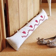 Don't let the draft in this #christmas Draft Excluders #christmastips #hoot #cluttoncox