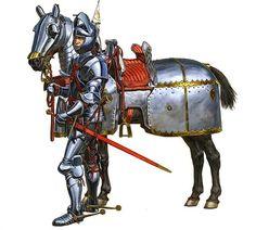 Burgunder Ritter aus den 15 Jahrhundert - Burgundian knights from the 15th century