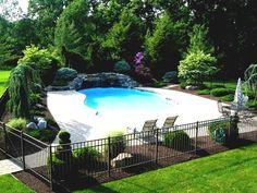 Landschaftsgestaltung Rund Um Den Pool Alle Natürlichen Landschaften Pools  #Gartendeko