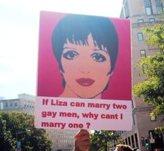 The Most Hilariously Effective Signs Supporting Gay Marriage | Special Messages | Someecards