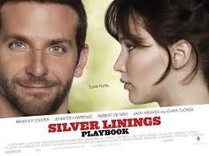 Silver Linings Playbook - one of the best movies I've seen in a long time, one of the most honest depictions and normalisation of mental health issues I seen on the big screen in a long time.