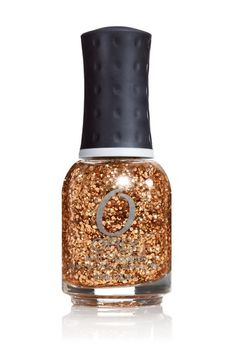 Nail Polish of the Moment: Orly Watch It Glitter (Rose Gold/Bronze Glitter Top Coat). Goes great over a variety of shades. Nice for fall. Was lazy and just wore it over plain nails.