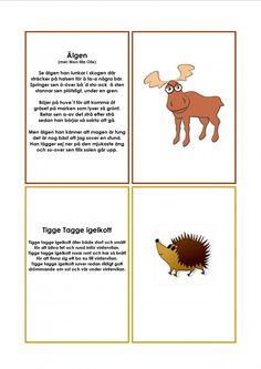 Mariaslekrum Learn Swedish, Swedish Language, Montessori, Diy And Crafts, Kindergarten, Singing, Preschool, Education, Learning