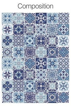 Portuguese Tiles, Tile Stickers, Tile Decal, Carrelage Adhésif - Kids and parenting Tile Decals, Wall Tiles, Cement Tiles, Mosaic Tiles, Floor Graphics, Diy Home Decor For Apartments, Tuile, Portuguese Tiles, Moroccan Tiles