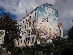 """Berlin mit...kein bekanntes, aber trotzdem ein schönes Bild, welches """"noch"""" nicht zu den Sehenswürdigkeiten zählt ;-)"""