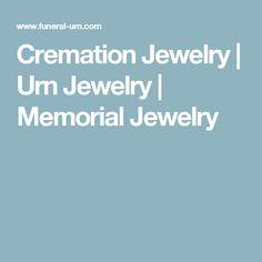Cremation Jewelry | Urn Jewelry | Memorial Jewelry