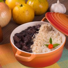 Grains, Rice, Beef, Food, Back Fat, White Rice, Beef Jerky, Brazilian Recipes, Vegans
