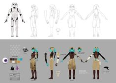 """View a concept art gallery for the Star Wars Rebels episode """"Homecoming. Star Wars Droids, Star Wars Rebels, Star Wars Concept Art, Star Wars Art, Female Stormtrooper, Star Wars Website, Star Wars Video Games, Star Wars Characters Pictures, Concept Art Gallery"""