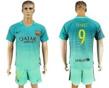 Barcelona #9 Suarez Sec Away Soccer Club Jersey