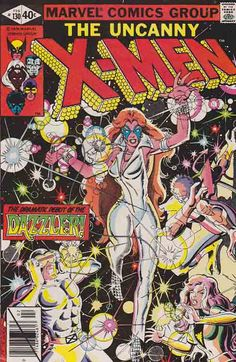 The Uncanny Xmen #130 Cover Art By John Romita Jr. 1st Appearance of The Dazzler.