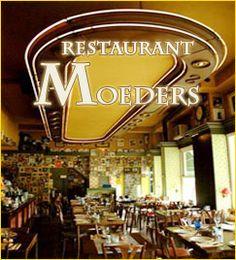 Restaurant Moeders menukaart vanaf 10 personen  (in Amsterdam)