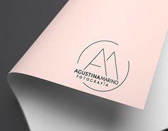 "Logo design  Check out new work on my @Behance portfolio: ""Logotipo Agustina Marino Fotografía"" http://be.net/gallery/52935197/Logotipo-Agustina-Marino-Fotografia"