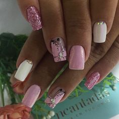 Diy Nail Designs, Short Nails, Spring Nails, Nails On Fleek, Gel Polish, Pretty Nails, Hair And Nails, Manicure, Hair Beauty