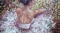 Noelle, oil on canvas, available Palette Knife Painting, Oil On Canvas, Paintings, Paint, Painted Canvas, Painting Art, Oil Paintings, Painting, Portrait